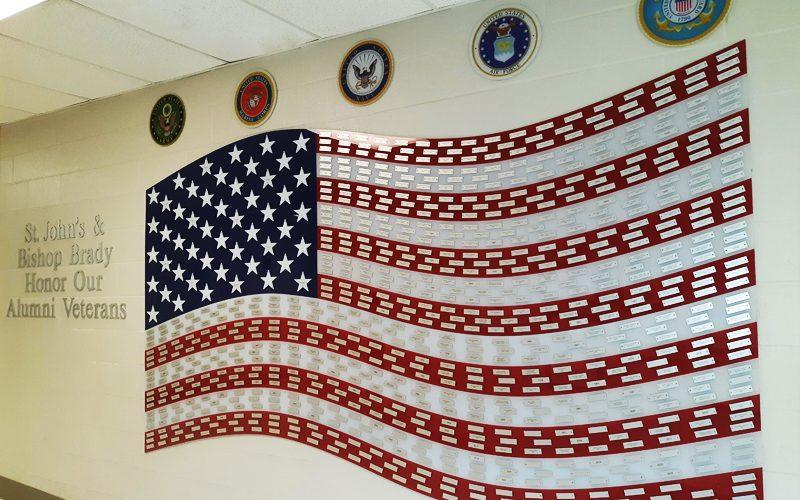 Honor Wall: Alumni Military Service