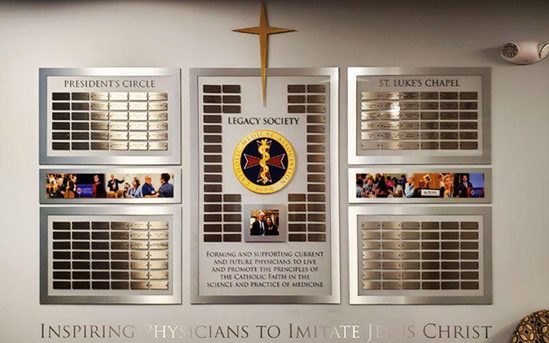 Wall of Honor: Catholic Medical Assoc.