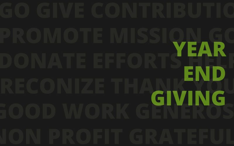 The Importance of Year-End Giving