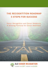 Donor Recognition Roadmap